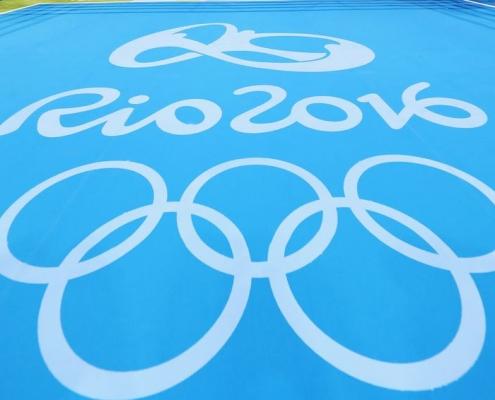 Olympic rings Rio 2016